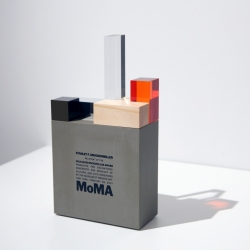 David Rockefeller Award for MoMA by Harry Allen Design.