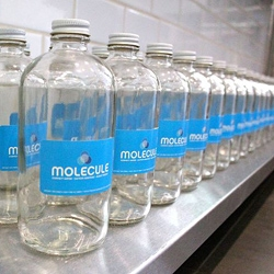 Molecule Water Café in New York's East Village serving filtered and purified NYC tap water. Yes, really.