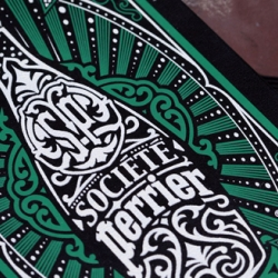 Perrier and Moleskin have joined together to create a new special edition Moleskin in honor of Perrier's new lifestyle blog Société Perrier, that aims to provide night life events.