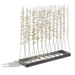 Monica Förster Forest Room Divider - A room divider and feature piece creating the illusion of coloured leaves or blossom on delicate stems.