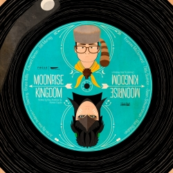 A fan made movie poster for Wes Anderson's Moonrise Kingdom that was later picked up by NBCUniversal UK to be used as a promotion piece for the DVD/Blu-Ray UK release.