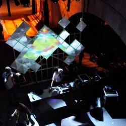 Looking back at Moooz's very first video mapping in spring 2011 for Archisound festival in Lyon where they will also be this year.