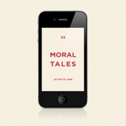 Moral Tales for iPhone is a DIY collaboration with photographers and artists from all around the world.