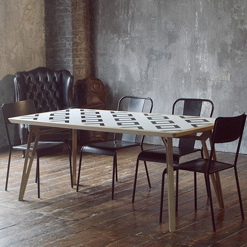 Mosaicool, a table whose surface is a composition of 36 magnetic tiles that allow to change the original design according to the occasion or to personal desire. Mosaicool allows also an ad hoc customization.