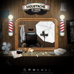 Moustache Is Good is a new site to try famous mustaches! Enjoy