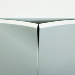 Mrs Bills, a series of cabinets with curved doors, designed by Mick Born for Karl Andersson.