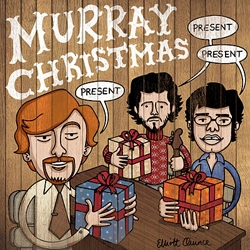 A clever Flight of the Conchords Christmas card by Elliott Quince (hi-res version available)