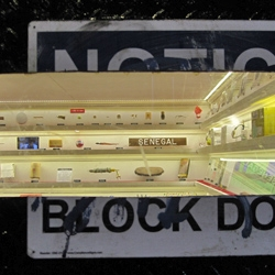 Toothpaste from around the world, misspelled food labels, and newsstand paper weights are just some of the objects you'll find in the tiny Museum located in an old freight elevator on Cortlandt Alley in NYC.