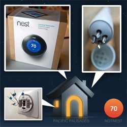 Nest Thermostat up close ~ here's the unboxing and installation. Gorgeous product, UI, packaging... and you have to see the cute screwdriver it comes with too.