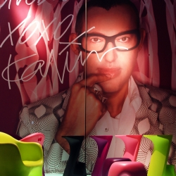 Exclusive World we offer the first visual XO's products  signed by designer Karim Rashid !!!
