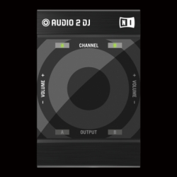 Native Instruments today unveiled the world's smallest USB DJ audio interface, the Audio 2 DJ.