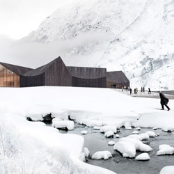 Competition Entry for The Jøssingfjord Center, designed by by NRJA (No Rules Just Architecture).