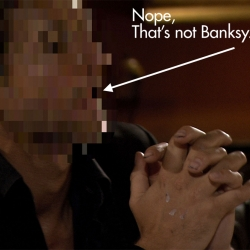 The whole truth behind the Banksy's Coming For Dinner Film Hoax, including who plays Banksy, movie stills, trailer and more.