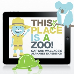 ABC Expedition introduces children to letters and animals as told through the voice and humour of explorer Captain Alistair J.Wallace. Populated with lively animations, funny sayings and all wrapped up in a design friendly package.