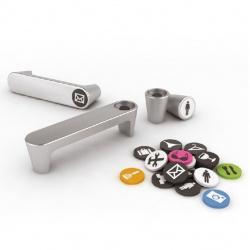 MAGNETIC furniture handle / ICON Design by Ignacio Pilotto