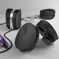 A pair of induction chargeable headsets from Enever, each with their own power supply, Bluetooth receiver and collapsible ear loop to make sharing music with friends easier than ever.