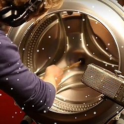 Happy Holidays from Maytag. Music made with a washing machine.
