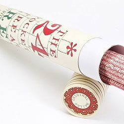 Pocket Calender Christmas tree in a tube ... Yes, take a look at Danish designer Maileg's site - what a fine calender and what a nice tube... :)