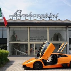 National Geographic is launching a new series starting October 1st called 'Ultimate Factories.' The Lamborghini factory in Sant'Agata Bolognese, Italy, is the first stop. Here they manufacturer the amazing limited-edition Murcielago LP 670-4 SV supercar.
