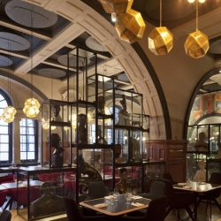 London's Royal Academy of Arts has a new restaurant with a stunning interior from Tom Dixon.