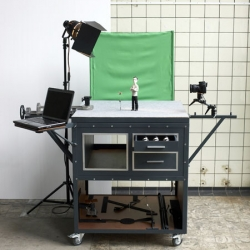 Motion cabinet - A work set for stop motion animations by Niels Hoebers.