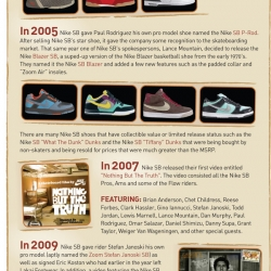 The History Of Nike Skateboarding Shoes