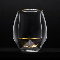 The Norlan Whisky Glass has been developed for a scientifically performing inside with an aesthetically beautiful outside. Norlan is designed to capture whisky's complex perfumes and deliver them to the senses.