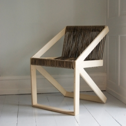 New chair SB-Cuatro from BRUNNER Studio in Copenhagen - a contemporary version of the iconic Scandinavian timber chair. Launch at SFF 2011.