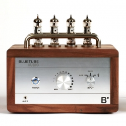 Blue Tube Audio - A Bluetooth enabled Vacuum Tube Amplifier with style and functionality.
