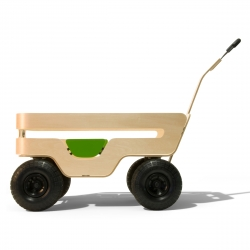 The Zen Wagon, a beautiful all-natural kids hauler purpose built for 2!  Designed and engineered by Scot Herbst of KAIKU, Northern California.