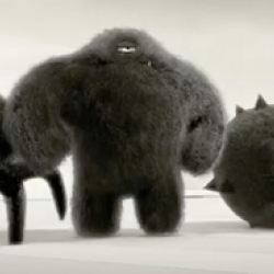 A cute and well animated series of TV spots inspired by Pixar's Monsters Inc. !