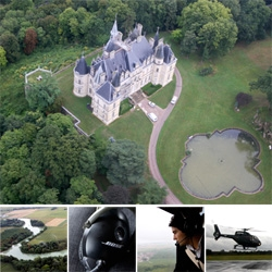 Helicopter ride over the champagne region and Madame Clicquot's historic Boursault Castle. Mind. Blowing. The 27 year old widow becomes the richest woman in a female unfriendly 1800s...