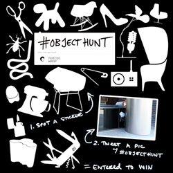 #OBJECTHUNT NY Design Week Twitter Sticker Hunt ~ NOTCOT + Sub-Studio, Apartment Therapy, Design Milk, Moco Loco, The World's Best Ever, Cool Hunting, and Design Glut = fun design week contest! Chance to win a Puppy +more!