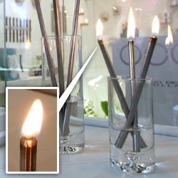 Duo Design Holland's Flicker oil lamp sticks are gorgeous and oh so versatile ~ on beautifully minimalist gifts, these are definitely on the list!