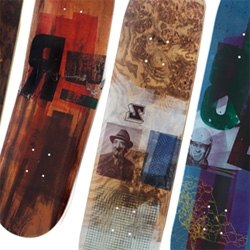 Scumco & Sons ABCs of offensive rap lyrics skate decks through letterpressed skateboard decks on exotic woods ~ check out all 26, and see if you can name the rap songs, the woods, or identify all the hidden graphics...