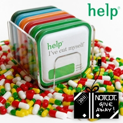 NOTCOT Holiday Giveaway #2: HELP! Remedies is giving away 5 super packs of HELP! Perfect for holiday survival or stocking stuffing!