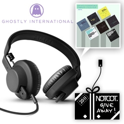 NOTCOT Holiday Giveaway #13: Ghostly International is giving away the amazing AIAIAI TMA-1 Headphones and The Ghostly International Complete Essentials Collection!