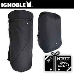 NOTCOT Holiday Giveaway #30: Ignoble Bags is giving away their limited edition (sold out!) Alternate Future Collection Duo of  the Stilwin Seedpod Backpack and the Wonderly Canister Rucksack!
