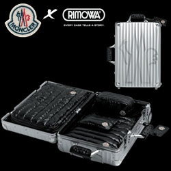 Rimowa x Moncler go on holiday... the result? A chimera of a carry-on...