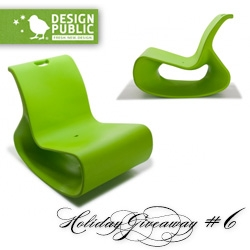 NOTCOT Holiday Giveaway #6: Design Public. Here's a chance to win the awesome Offi Mod Lounger (in the color of your choice!)