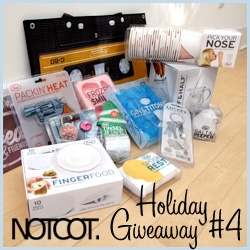 NOTCOT Holiday Giveaway #4: A massive bundle from Fred & Friends ~ from the calf and half double-walled glass, to pick your nose cups, to gin and titonic ice cube trays and more...