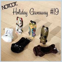 NOTCOT Holiday Giveaway #19: Mimoco is giving away 3 of the new VDC Mimobots with protohoodies to 3 lucky commenters!!!