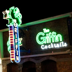 The Griffin ~ on more options of off-strip vegas with gorgeous neon signage (yes there's one in los feliz too, but this one has the cooler neon!)