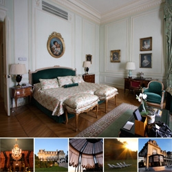 Chateau Les Crayeres in the Champagne region of France ~ quite possibly the most surreal and exquisite hotel experience i've encountered! You have to see the grounds and room details...