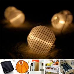 IKEA Solar Lights ~ hands on! Sure the catalog pics are one thing... but couldn't resist and found them at IKEA ~ so pics in the store, and close ups and even night shots!