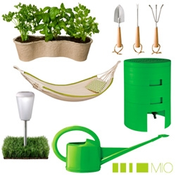 Target goes green with MIO ~ with some refreshing and playful designs from the brothers Salm.... the 99$ Green Composter is the most intriguing to me... and more solar lighting options!