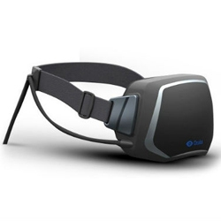 The Oculus Rift VR Headset is a wide angle virtual reality display designed specifically for gaming.