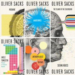 Fantastic Oliver Sacks book covers designed in-house by Cardon Webb, available in August.