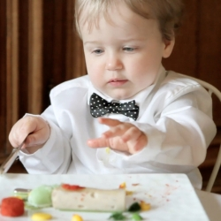 To launch a new babyfood, Olvarit invited 20 babies to a Michelin starred restaurant.
