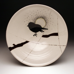 New work from ceramic artist, Jenny Hager.  Her work is functional with inspiration drawn from nature.